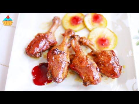 Сочные УТИНЫЕ НОЖКИ с грушей. Вкуснее, чем в ресторане. Простой рецепт.