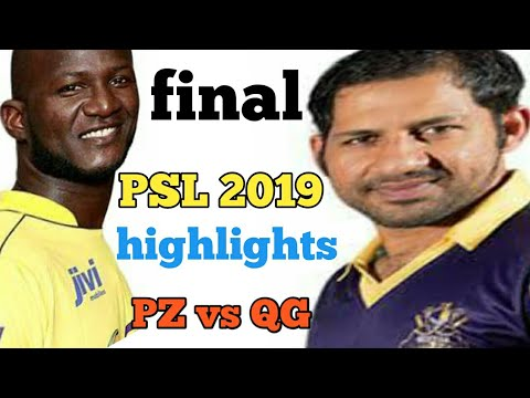 Pakistan super league 2019 final _ Quetta gladiators vs Peshawar zalmi