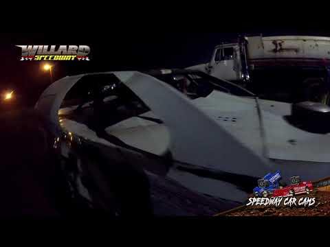 #21 Keven Maynard - Sport Mod - 8-7-21 Willard Speedway - In-Car Camera - dirt track racing video image