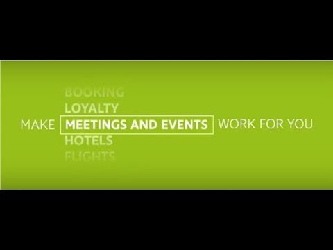 CWT Meetings and Events Global Showreel