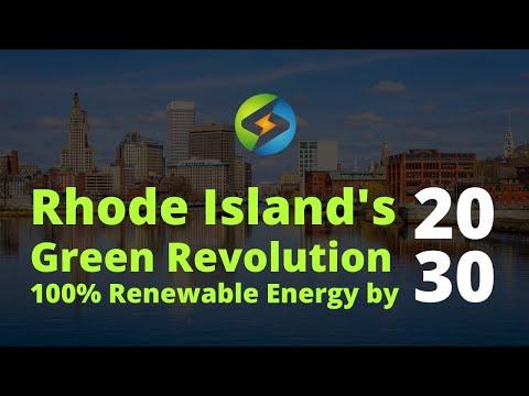 Energy Professionals Helping Rhode Island Go 100% Renewable