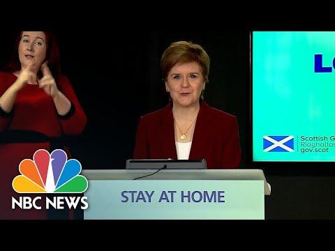 Scotland's Nicola Sturgeon Responds To Rumor Of Trump's Inauguration Day Golf Plans | NBC News NOW