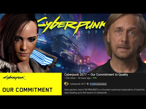 CD Projekt Red is Full of Sh t   Cyberpunk 2077 s  Commitment to Quality  is Too Little Too Late