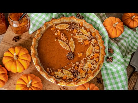 ТЫКВЕННЫЙ ПИРОГ | очень вкусный пай / тарт из тыквы | Homemade Pumpkin Pie