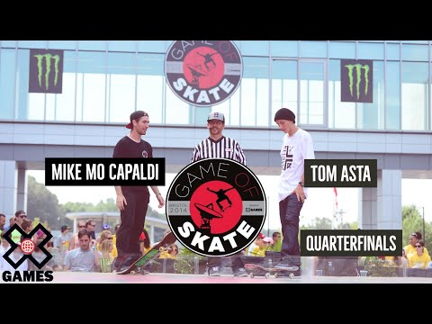 Mike Mo Capaldi vs. Tom Asta - Game of Skate Quarterfinals - ESPN X Games - UCxFt75OIIvoN4AaL7lJxtTg