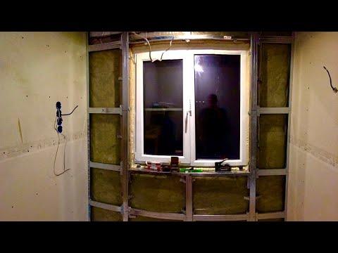 Монтаж гипсокартона в каркасном доме 6х6. Спальня. Часть 3