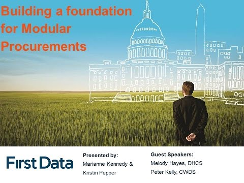 PD2016 S13: Building a foundation for Modular Procurements - First Data