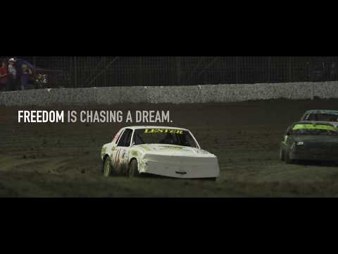 Freedom - dirt track racing video image