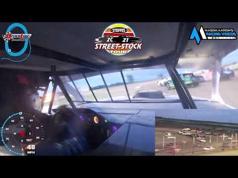 #27P Tucker Pederson WISSOTA Street Stock On-Board @ Devils Lake (6/19/21) - dirt track racing video image