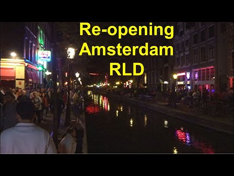Re-opening of Amsterdam's red light districts (date finally revealed)