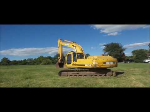1999 John Deere 200LC excavator for sale | no-reserve Internet auction September 29, 2016