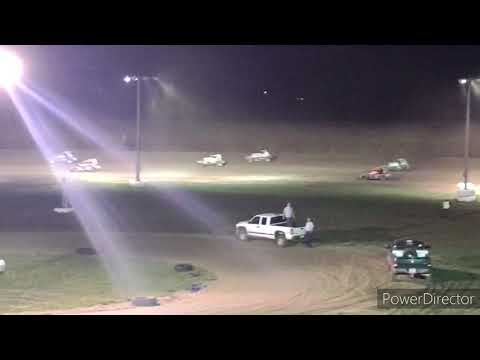 Buckeye Outlaw Sprint Series A-Main - I-96 Speedway - 10-9-2021 - dirt track racing video image
