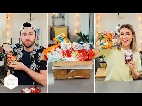 British People Trying snacks & candy from Israel - In The Kitchen With Kate - UC_b26zavaEoT1ZPkdeuHEQg