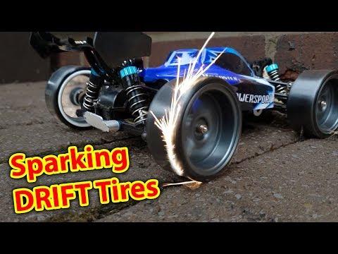 Sparking DRIFT Tires on DIRT CHEAP RC CAR - WLToys a959 Drifting - UCH2_Jj8m4Zbe26UMlGG_LVA