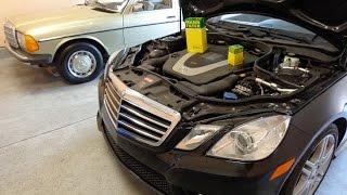 Cambio olio Mercedes Classe E W212 2009-2016