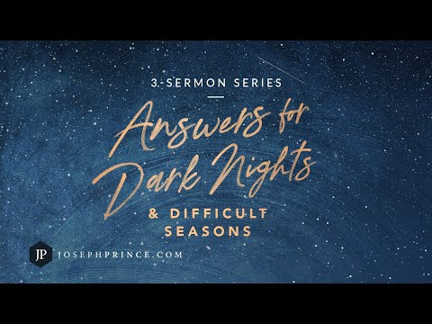 Answers For Dark Nights And Difficult Seasons Trailer  Joseph Prince