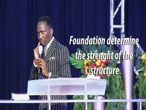 LAY A GODLY FOUNDATION!