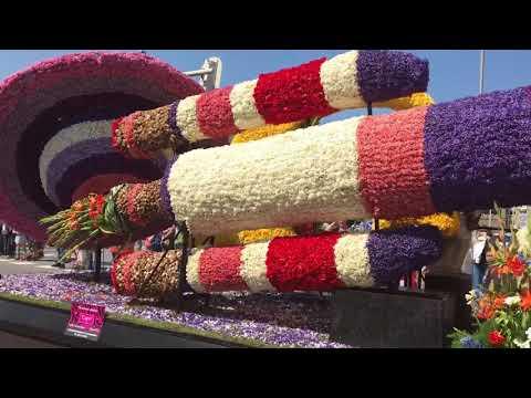 Blomsterkarnevalen i Holland