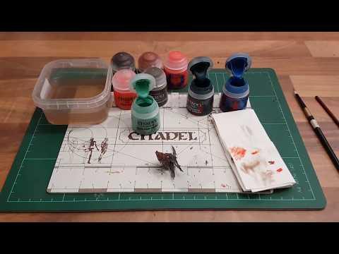 Toturial:Miniaturen bemalen für Anfänger german HD ★ Rost/Grünspan Effekte malen ★ How to paint