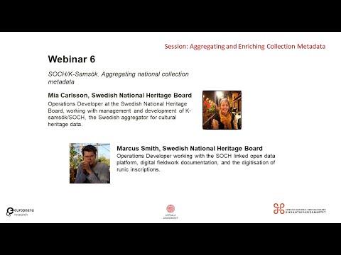 丰富元数据网络研讨会6:SOCH/K-SamsöK-聚合国家集合元数据