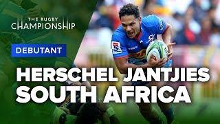 Herschel Jantjies, South Africa   Debutant