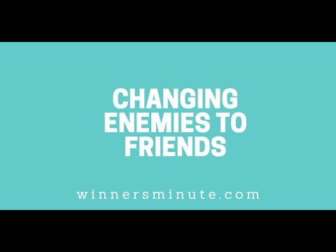 Changing Enemies to Friends // The Winner's Minute With Mac Hammond