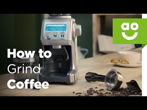 How to get the Perfect Dose with the Smart Grinder Pro | ao.com