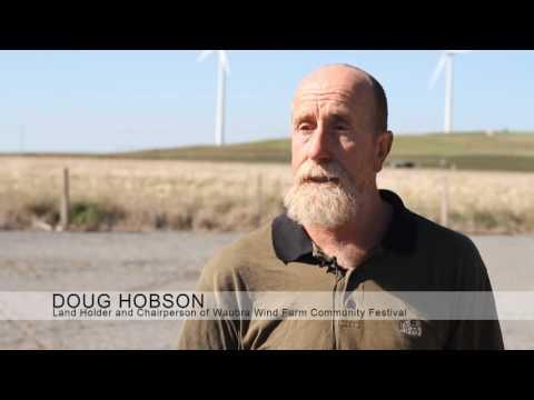 2011 Waubra Wind Farm Festival in Australia