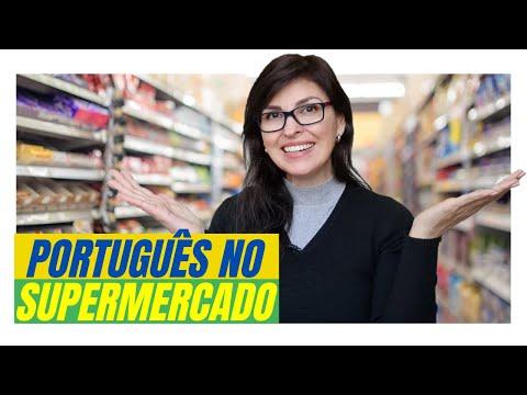APRENDER PORTUGUÊS no SUPERMERCADO!