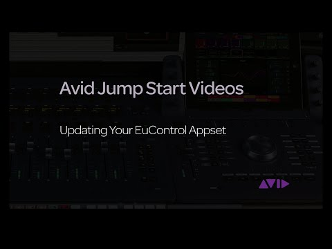 Avid Jump Start Video - Updating your EuControl Appset
