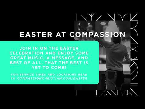 Compassion Live, Cam Huxford, 9AM