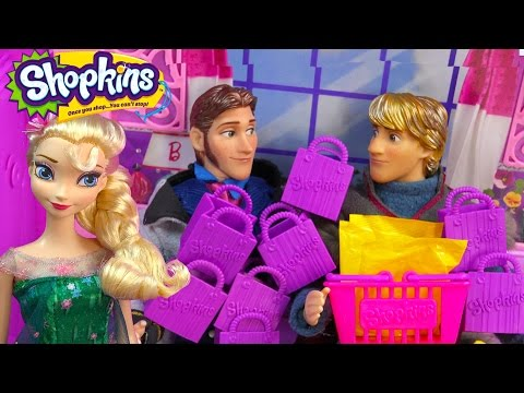Queen Elsa Shopkins Challenge Season 2 Unboxing Kristoff Prince Hans Disney Frozen Fever Doll Video - UCelMeixAOTs2OQAAi9wU8-g