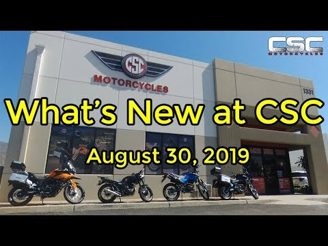 What's New at CSC August 30, 2019