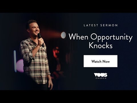 Rich Wilkerson Jr  Book Of Esther: When Opportunity Knocks