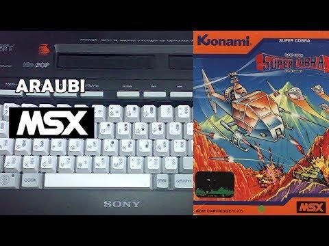 Super Cobra (Konami, 1983) MSX [068] El Kiosko