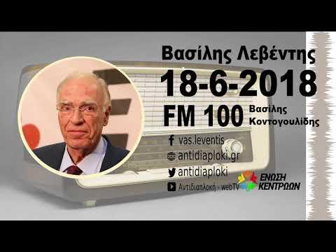 Β. Λεβέντης / FM 100 / 18-6-2018
