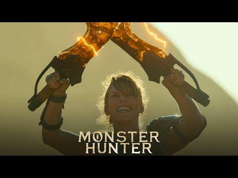 MONSTER HUNTER. Protagonizada por Milla Jovovich. En cines 1 de enero.