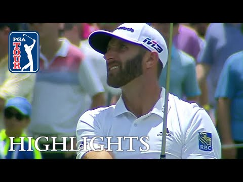 Dustin Johnson?s Round 2 highlights from FedEx St. Jude