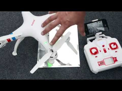 Syma X8W FPV Quadcopter Quick Start Guide & Review - UCg7KMrS12P2nmOIjOHjgZEA