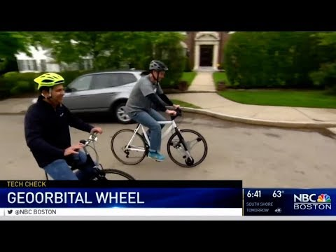 NBC Boston takes a GeoOrbital wheel out for a spin