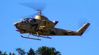 COBRA DESERT RC TURBINE BELL AH-1 SCALE MODEL HELICOPTER