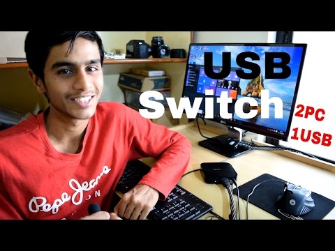 DIY USB Switch for Keyboard and Mouse - USB Peripheral Sharing Switch - default