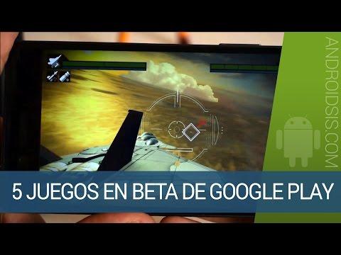 5 juegos espectaculares en beta de la Google Play Store