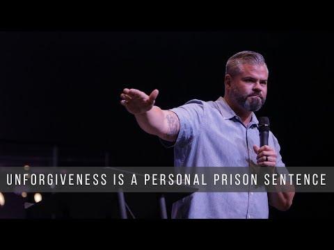 Unforgiveness is a Personal Prison Sentence