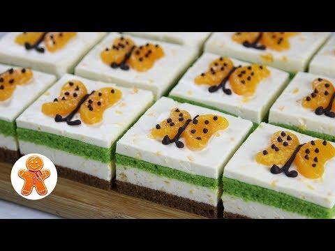 Новогодние Мандариновые Пирожные Бабочки