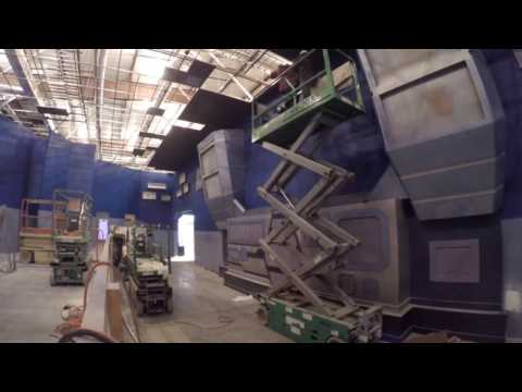 JUSTICE LEAGUE at SFOG : Construction Time Lapse