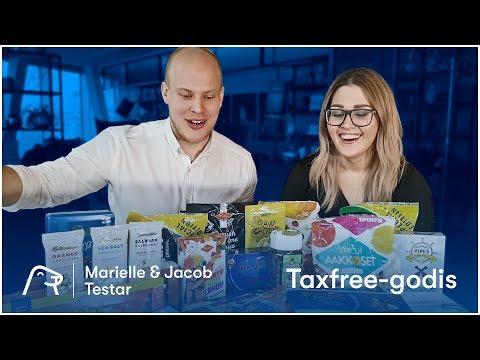 MUKBANG! Marielle & Jacob testar Taxfree-godis!