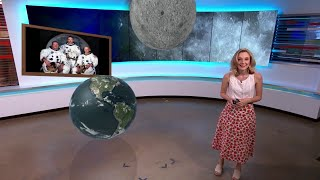 What was the weather like during the Apollo 11 moon landing? Meteorologist Sarah Spivey explains