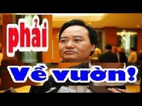 Sự thật kinh hoang về Bộ trưởng GD-ĐT Phùng Quang Nhạ