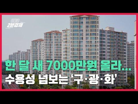 [2분경제]한 달 새 7000만원 올라... 수용성 넘보는 '구·광·...